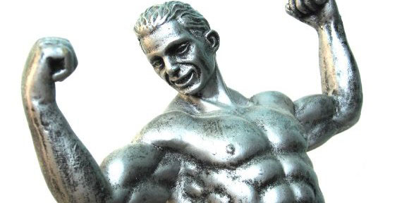 statue musclee