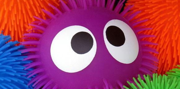yeux globuleux