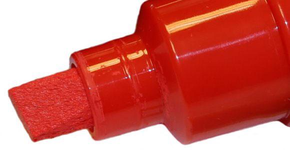 marqueur rouge