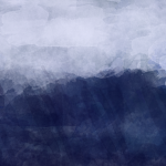 rough sea background 4k