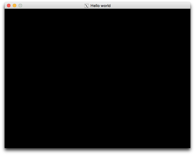 Hello World en miniLibX